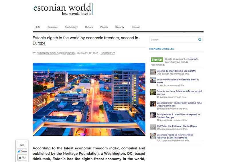 Estonian World