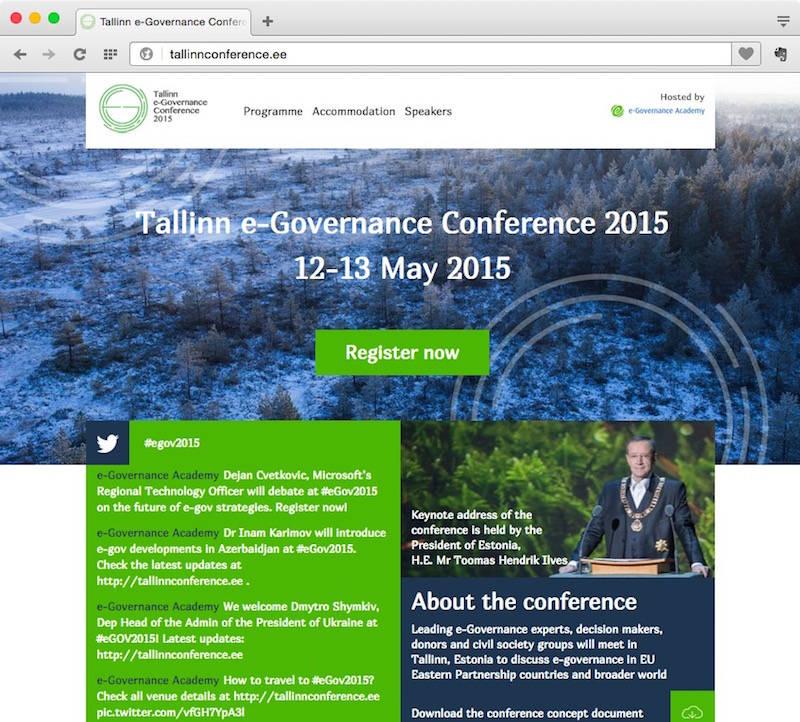 e-Governance Conference 2015